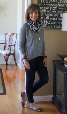 Never thought of wearing a necklace under a scarf. 31 Days Of Fall Fashion (Day 17)