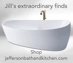 Check the Jefferson website for bath fixtures you love, like Toto's zero gravity, marble sinks and tubs that are hand finished for true elegance. #treatyourself Stone Tub, Elkay Sinks, Romantic Bathrooms, Relaxing Bathroom, English Manor, Soft Towels, Bath Fixtures, Solid Surface, Tubs