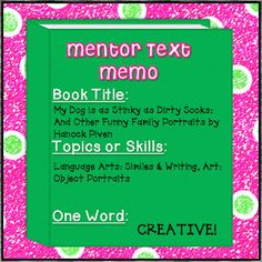 Must Read Mentor Texts -- Linking Up with Collaboration Cuties!