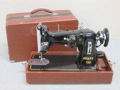 Vintage Pfaff 130 Electric Sewing Machine