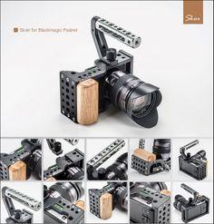 Blackmagic Pocket Cinima Camera Cages