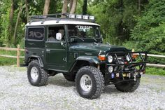 1976 Toyota Land Cruiser Maintenance of old vehicles: the material for new cogs/casters/gears/pads could be cast polyamide which I (Cast polyamide) can produce Toyota 4x4, Toyota Trucks, Toyota Cars, Toyota Land Cruiser, Royce, Jaguar, Adventure Car, Volkswagen, Cars