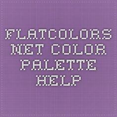 flatcolors.net - color palette help
