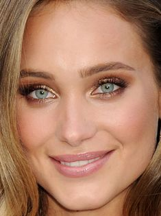 Close-up of Hannah Davis at the 2015 Spike TV Guys Choice Awards. http://beautyeditor.ca/2015/06/15/best-celebrity-beauty-looks-bryce-dallas-howard