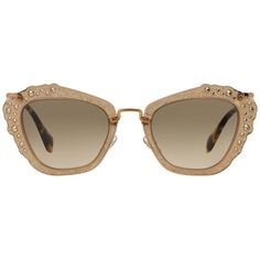 Miu Miu Sunglasses, MIU MIU MU 04QS 55 ($40) ❤ liked on Polyvore featuring accessories, eyewear, sunglasses, glasses, miu miu, miu miu sunglasses, miu miu glasses and miu miu eyewear