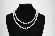 Womans Necklace Vintage Style Fashion Designer Long Boho Festival Style Beige