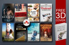 create Stunning Ebook and Kindle Cover in 24 hours by designran