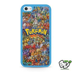 Pokemon All Monster Character iPhone 5C Case