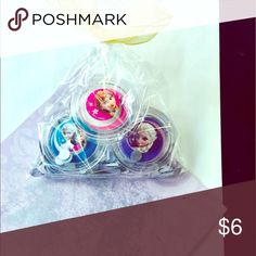 Frozen lip gloss kit Kit includes 3 brand new frozen lip glosses & handmade confetti. Sorry no trades. Disney Accessories