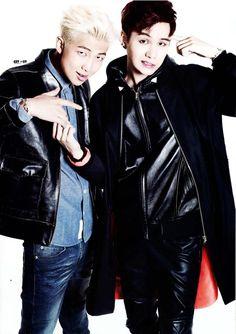 Rap Monster and Suga bts Kim Namjoon, Yoongi, Jimin Jungkook, Bts Bangtan Boy, Steve Aoki, Foto Bts, 2ne1, K Pop, Shinee