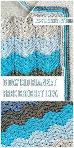 Sewing Blankets The Kid Blanket [Free Crochet Pattern] - Hi, Crochet Lovers! I'd like to present you another stunning blanket pattern. Cute Crochet, Crochet Crafts, Crochet Projects, Crotchet, Crochet Ideas, Crochet For Beginners Blanket, Baby Blanket Crochet, Crochet Blankets, Beginner Crochet