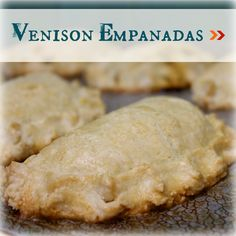 Flaky empanada crust filled with ground venison, beans, and pico de gallo, baked for a healthy alternative to traditionally fried empanadas. Cooking Venison Steaks, Cooking Pork Chops, Venison Meat, Ground Venison Recipes, Deer Meat Recipes Ground, Ground Meat, Deer Food, Wild Game Recipes, How To Cook Pork