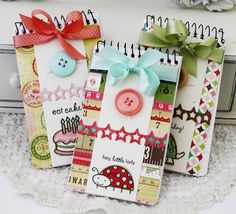 cute notebooks by lilybeanpaperie