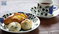 アラビア パラティッシ Porcelain, Pudding, Pottery, Finland, Breakfast, Desserts, Coffee, Food, Design