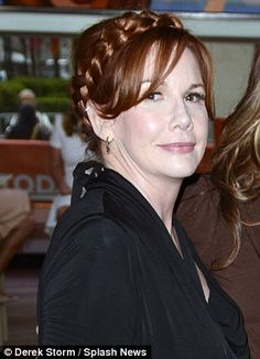 Looking great: Red-haired Melissa Gilbert still wears plaits in her hair - like her character Laura Ingalls Today Show, On Today, Nbc Series, Melissa Gilbert, Michael Landon, Laura Ingalls Wilder, Plaits, 40th Anniversary, Mail Online