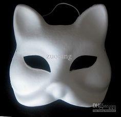 Plain White Masks To Decorate Christie Moffatt Moffatt Moffatt Swain Hot Gluethen Paint The