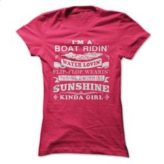 Sunshine Kinda Girl - shirt #funny graphic tees #cool t shirts for men