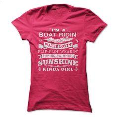 Sunshine Kinda Girl - shirt #funny graphic tees #cool t shirts for men