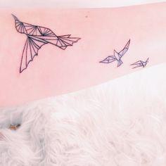 Tatouage oiseaux colibri