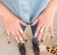 Cuff Knuckle Rings