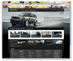 Range Rover website - for look and feel