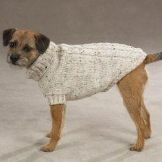 Dog Sweater - Dublin Knit/Irish Knit Pet Sweater...