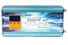 DC AC power inverter, grid inverter, battery charger - UK shopping