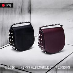 Ball out. The mini Lia bag with ball studs is now available in the London Mayfair Flagship and at Alexander Wang stores worldwide. Explore more accessories new arrivals in store and online.