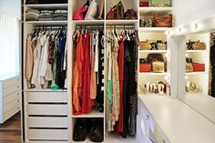 Closet Gagliasso Ewbank (Foto: Michell Lott)