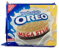 Head or Tails Mega Stuf Oreo Weird Oreo Flavors, Cookie Flavors, Funny Food Memes, Food Humor, Fun Cookies, Oreo Cookies, Oreos, Sonic Cake, Creamed Onions