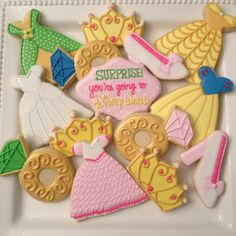 Disney World Princess Cookies