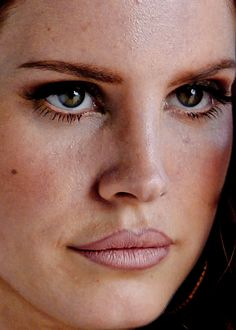 She has pores/bumps/lines too. Still perfect.