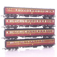 Oo Scale The Cheapest Price Tri-ang Hornby R27 Gwr Ex Caledonian Coach Passenger Cars