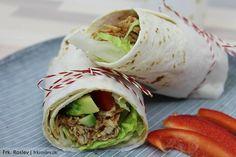Lækre, krydrede og velsmagende burritos med kylling og gode friske grøntsager. Det er mexicansk mad, når det er allerbedst.