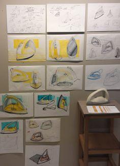 Małgorzata Sekuła (School of Form) iron sketches and a foam model Boat Drawing, Coffee Icon, Sketch Photoshop, Industrial Design Sketch, Furniture Handles, Design Process, Portfolio Design, Simple Designs, Furniture Design