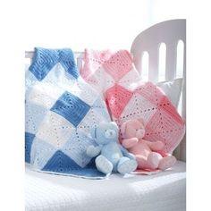 Free Beginner Baby's Blanket Crochet Pattern