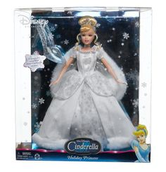 Collectible Barbie Dolls | Disney Collectible Christmas Holiday Collector Cinderella Barbie Doll ...