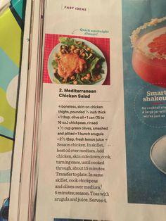 Media chicken salad