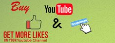 Buy YouTube Comments and Likes Cheap to increase the popularity of your YouTube Videos and YouTube Channels from No 1 Service provider.