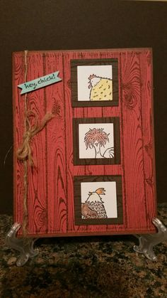 Hey Chick! By Stampin UP.