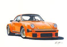 Porsche 934 Art by Miha Furlan