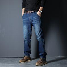 Men's Denim Jeans Style Cargo Web: www.menpant.com/product/mens-denim-jeans-style-cargo/ Men's Denim Jeans Style Cargo Stretch Straight Loose Denim Men Jeans Black Zipper Burglarproof Big Size 40 42 44 46 48 #MenPant #men #pant #pants #albama #texas #NewYork