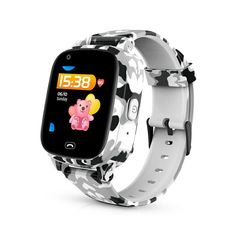 Torntisc Kids Smart Watch Colorful Screen GPS SOS one-click Call Location 600 Mah Anti Lost Monitor Kid smartwatch Remote Camera, Gps Tracking, Hd Video, Watch Video, Cool Watches, Smart Watch, Wifi, Kids Smart, Screen Material