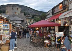 Mostar in Bosnia and Herzegovina - admire the historic town and the Stari Most bridge Mostar Bosnia, My Road Trip, Adriatic Sea, Bosnia And Herzegovina, Dubrovnik, 16th Century, Old Town, The Locals, Croatia