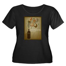 Psalm 104:15 Plus Size T-Shirt