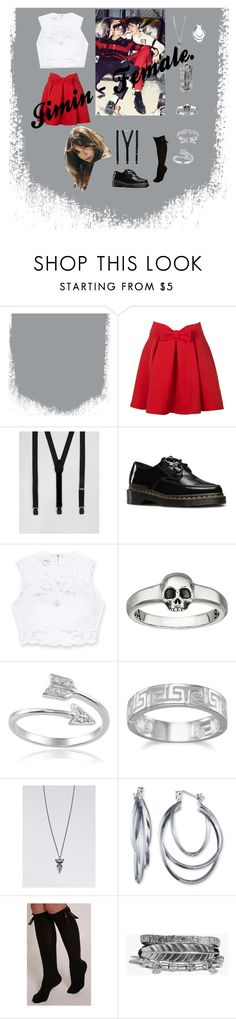 """Jimin ~ Female"" by izabella-gabel on Polyvore featuring ASOS, Dr. Martens, Bebe, King Baby Studio, Journee Collection, BillyTheTree, Chapter, Nine West and Boohoo"