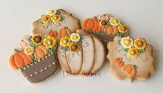 Fall Cookies // D. Sweet - Handmade Creative Cookies