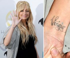 Pin for Later: The Ultimate Celebrity Tattoo Gallery Nicole Richie Nicole Richie, Nicole Kidman, Bad Tattoos, Tattoo You, Worlds Worst Tattoos, Toy Story Tattoo, Big Tattoo Planet, Round Tattoo, Worst Celebrities