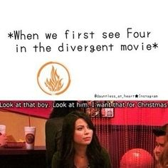 Really anytime of year would work. Schoenfeld Schoenfeld Schoenfeld Perkins needs to read DIVERGENT! (Or Tobias) for people who actually read the book before seeing the movie Divergent Jokes, Divergent Hunger Games, Divergent Fandom, Divergent Trilogy, Divergent Insurgent Allegiant, Insurgent Quotes, Disney Divergent, Veronica Roth, Book Tv