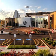 Early morning image of the Pro Football Hall of Fame